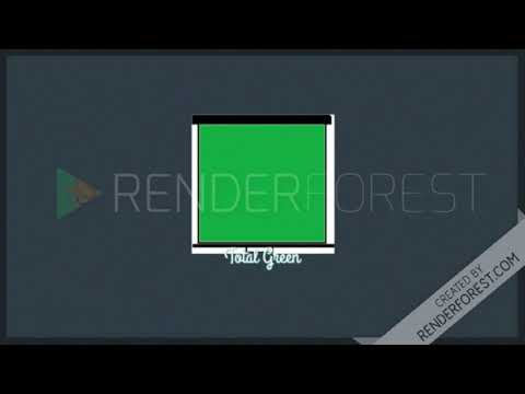 No copyright youtube logo | Green Screen | Total Green | 2018