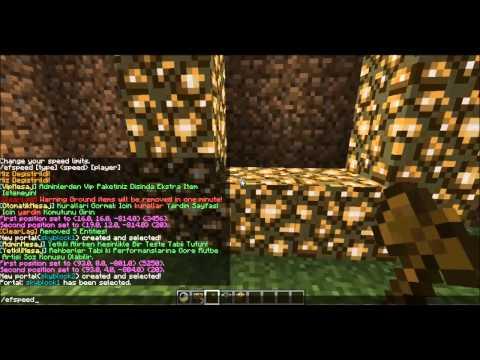 Minecraft plugin tanıtımı multiverse portal ve sign warp