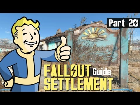 Fallout 4 - SETTLEMENT BUILD GUIDE 20 - Water Purifiers Grid