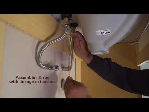 How to Install SInkSTRAIN Pop-Up Drain by PF WaterWorks