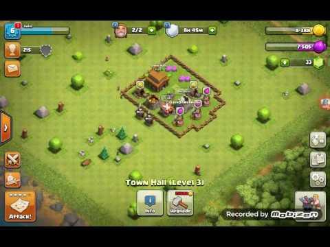 Clash Of Clans | INSANE Max Lvl x999 Goblin and x999 Rage vs TH 5