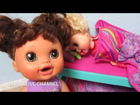 BABY ALIVE Real Surprises Doll Sophie fakes sick from school!