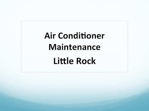 Air Conditioner Maintenance Little Rock : 501-902-4287 Make A Call For Help Right Now
