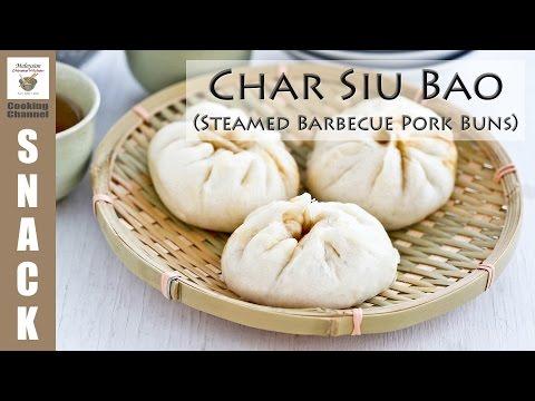 Char Siu Bao (Steamed Barbecue Pork Buns) | Malaysian Chinese Kitchen