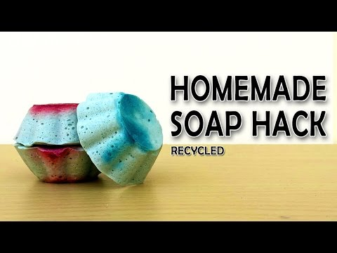 Homemade soap from old soap bars | What the hack #20