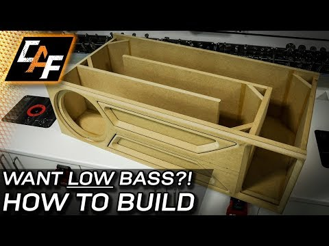 How to Build a T-Line Subwoofer Box