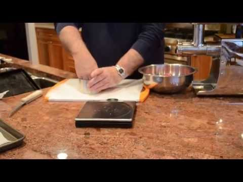 Meat grinding  basics, Steak burgers