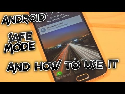 How to use Safe Mode on your Android device - Phone or Tablet [Tutorial]