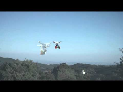 PRAYER FLAGS ON A DRONE - MAKE DRONES, NOT WAR