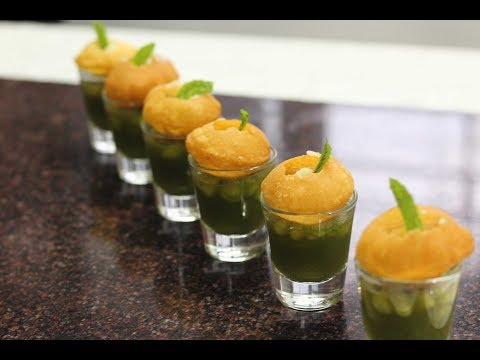 How to make sweet & tangy panipuri water @home - step by step