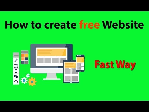 How to Create free Website on Google(2018) | How To Make A Website For FREE