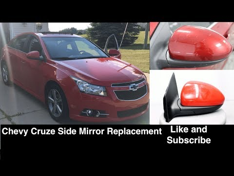 Chevrolet Cruze Driver / Passenger Side Mirror Replacement / Removal