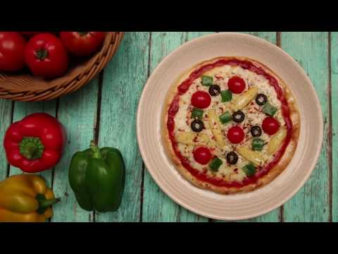 Amul Recipes:  Veg Pizza - Marathi