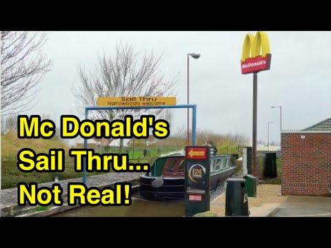 Mc Donald's Narrowboat