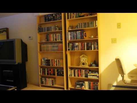 Electro/mechanical control of hidden bookcase door - Manual Open And Close