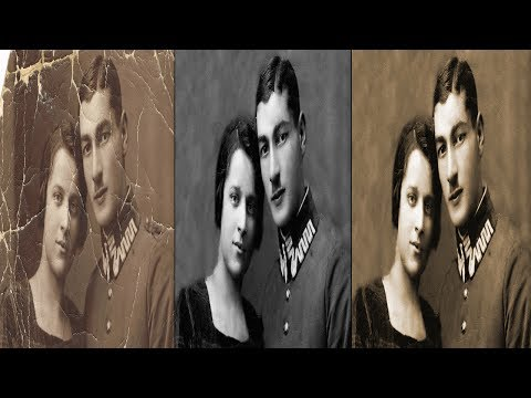 How to Repair an Old Photo in Photoshop ( in Tamil )