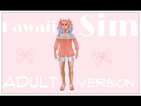 Sims Freeplay - Create a Kawaii Adult Sim