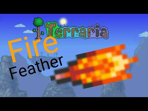 Terraria- Fire Feather