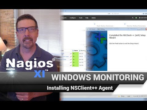 Installing NSClient++ Agent on a Windows Server - Windows Monitoring with Nagios XI