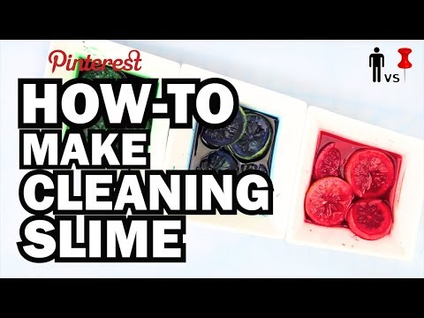 How to make Cleaning Slime - Man Vs. Pin #16