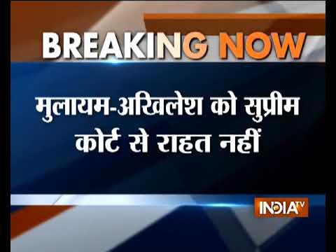 Akhilesh Yadav, Mulayam Singh Yadav vacate official residences in Lucknow