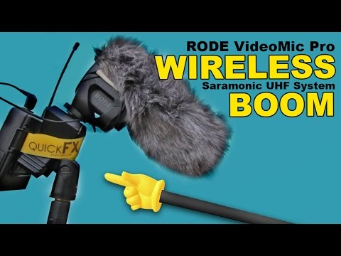 Wireless Boom! - Saramonic Mic System (Rode Videomic Pro)