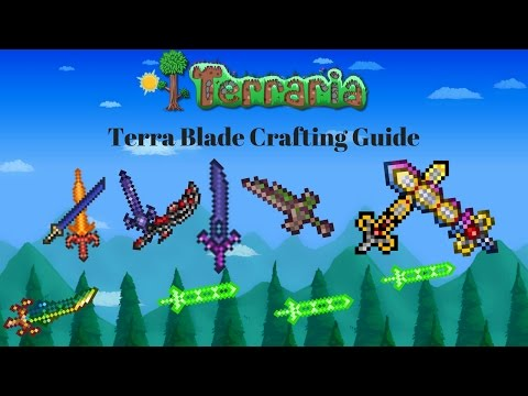 Terraria - Terra Blade (Crafting Guide & Overview)