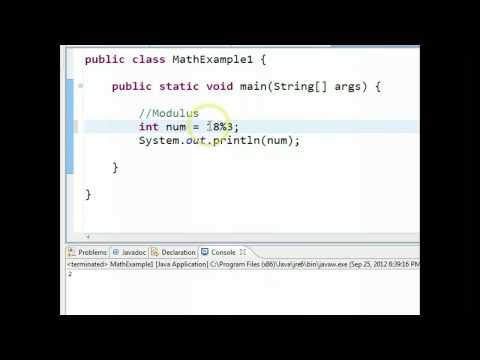 Java - Modulus