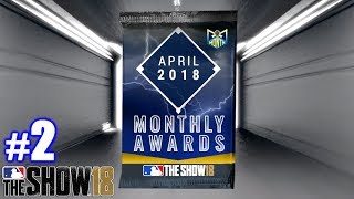 SPECIAL PLAYER OF THE MONTH PACKS! | MLB The Show 18 | Packs #2
