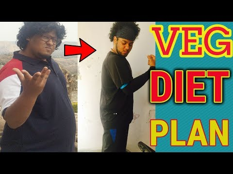 MY VEG DIET PLAN WHICH HELPED ME LOSE 50 KG|FULL DAY WEIGHT LOSS SAMPLE INDIAN DIET IN HINDI