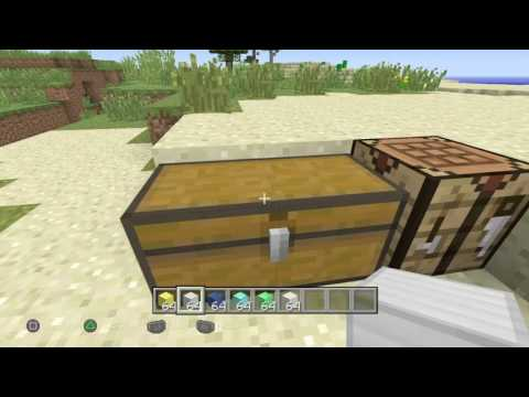 Minecraft Creative To Survival Glitch (All Items) TU 49 - TU54