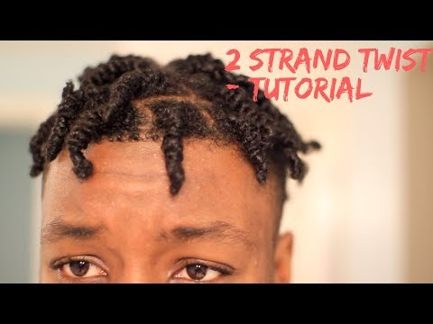 TWO STRAND TWIST OUT /  MEN