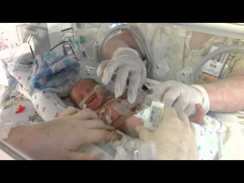 27 week preemie crying like a kitten