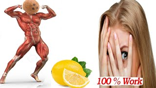 Health Benefits Of Green Coconut And Garlic With Lemon Juices Fruits || Best Natural Tips