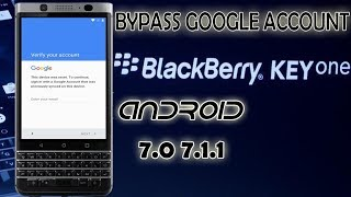BOOM! Remove FRP Blackberry Key One Latest Security 100% done