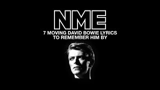 Seven moving David Bowie lyrics to remember him by