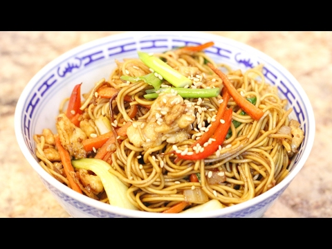 How to Make Chicken Lo Mein - Cooking With Hua