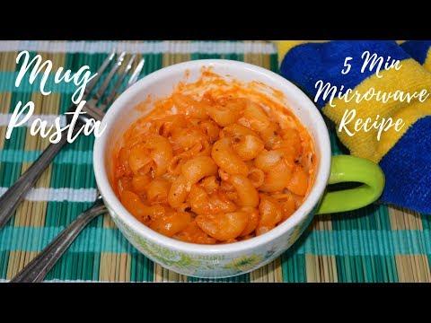 Mug Pasta | 5 Min Microwave Recipes | Pasta in Microwave | Mug Meals | Urban Rasoi