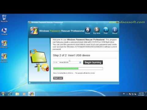 How to Unlock or Reset Windows Vista password