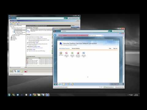 Installing RDS RemoteApp and Single Sign On - Part 2
