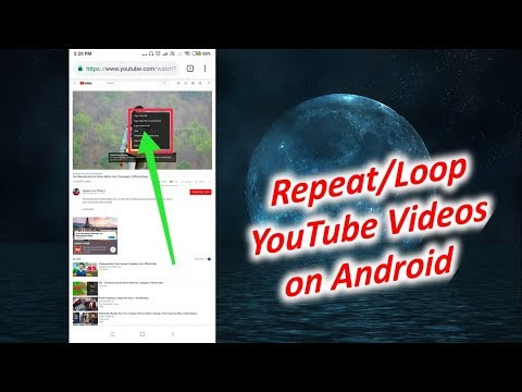 How to Repeat Videos on YouTube Android
