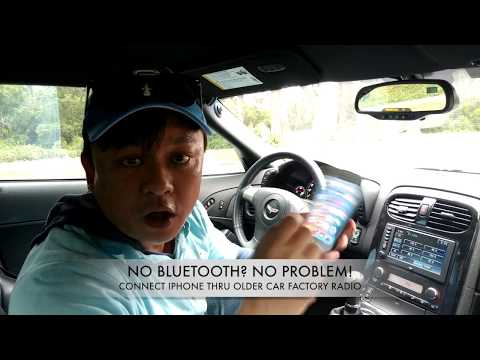 How to connect iPhone 7 to Older Car Radio without Bluetooth