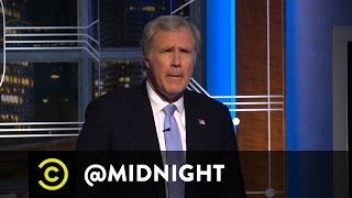 A Word from President George W. Bush (Will Ferrell) - @midnight with Chris Hardwick