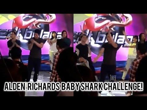Alden Richards Baby Shark Challenge!