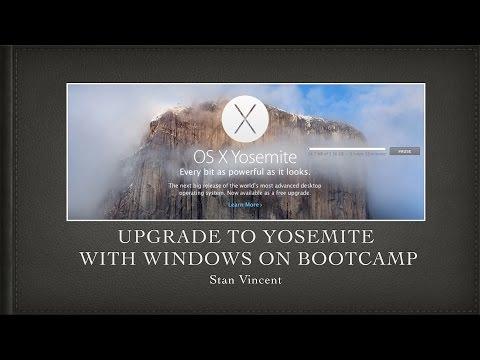Upgrade to Yosemite | Mavericks with Windows 8.1 on Bootcamp | IOS Yosemite | Apple