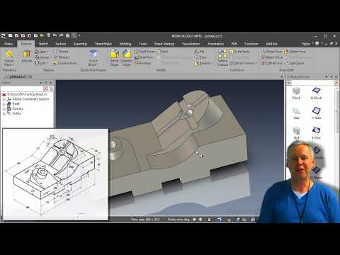IronCAD vs SolidWorks II - príklad