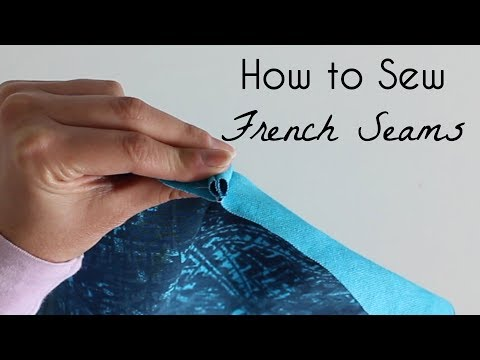 How to Sew a French Seam Finish