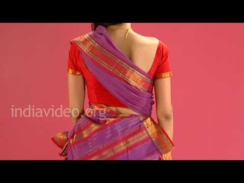 Xxx Mp4 Wearing Chettinad Saree In Tamil Pinkosu Style Tutorial 3gp Sex
