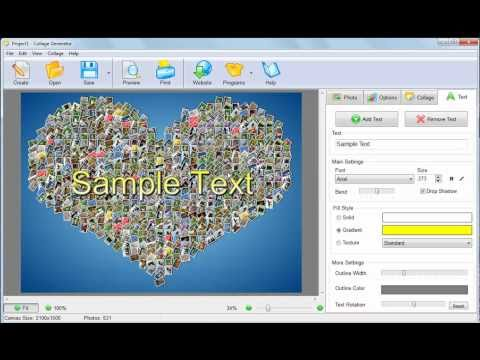 How to create photo collage automatically