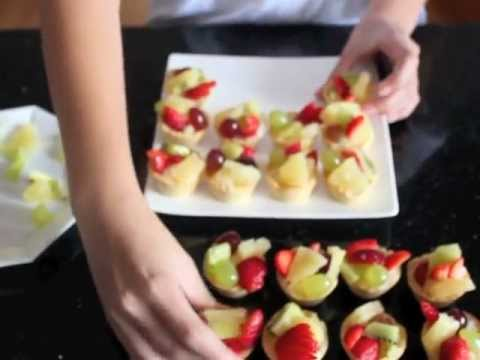 How to make Fruit tarts.